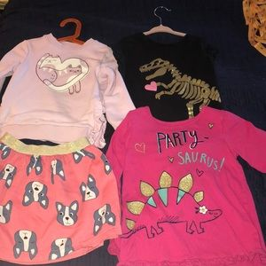 Lot of 4/5 girl clothes